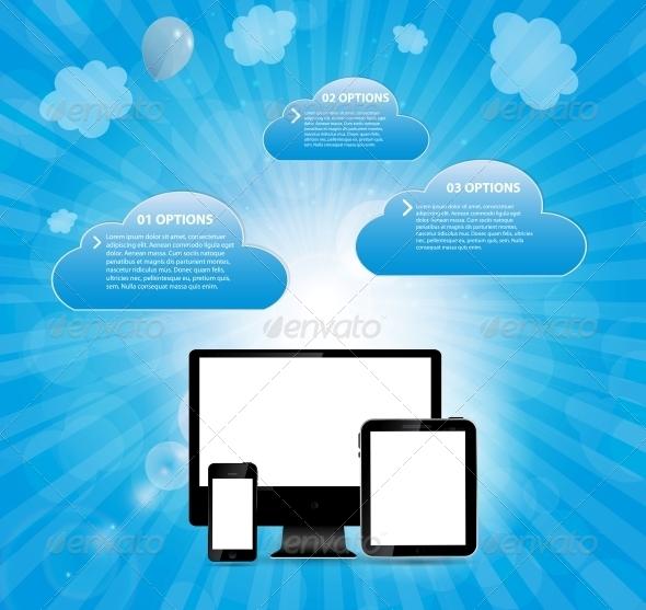 GraphicRiver Online Service Concept Vector Illustration 6295651