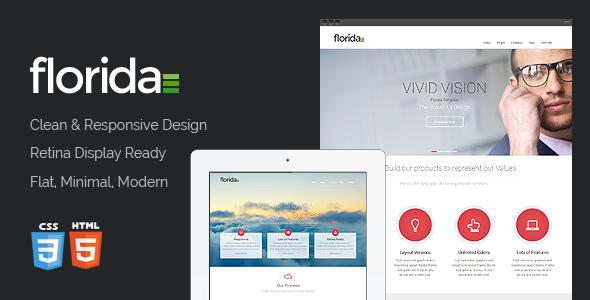 ThemeForest Florida Premium Multipurpose Responsive Template 6295723