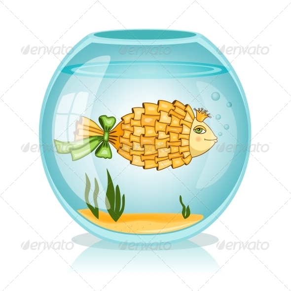 GraphicRiver Goldfish in the Bowl 6295845