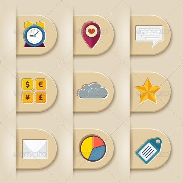GraphicRiver Social Media Ribbon Elements 6295864
