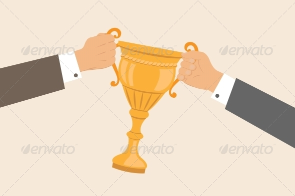 GraphicRiver Business Hands Pulling Cup 6295895