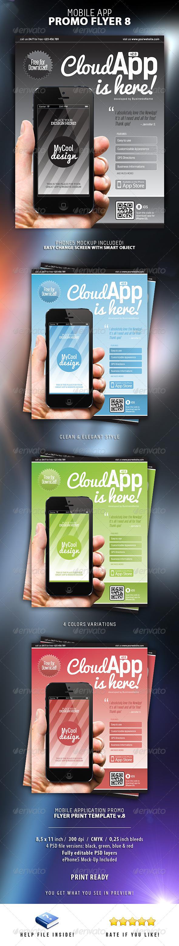 Mobile App Flyers 8 - Commerce Flyers