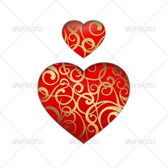 GraphicRiver Vector Heart Symbol 6296361