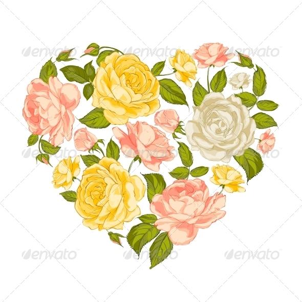 GraphicRiver Valentine Heart Symbol 6296365