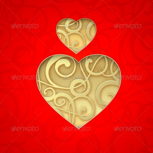 GraphicRiver Vector Heart Symbol 6296367