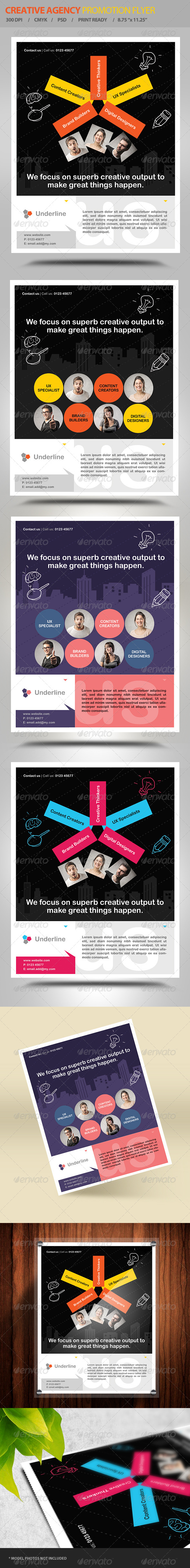 GraphicRiver Creative Design Agency Flyer Vol2 6296371