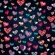 Seamless Heart Pattern for Valentine's Day