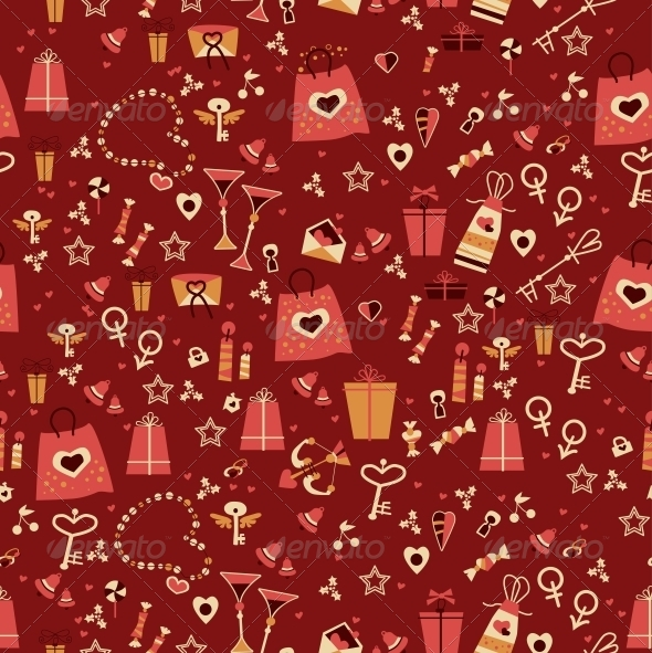 GraphicRiver Seamless Valentine Pattern 6296422