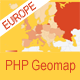PHP Geomapping Widgets (Europe)