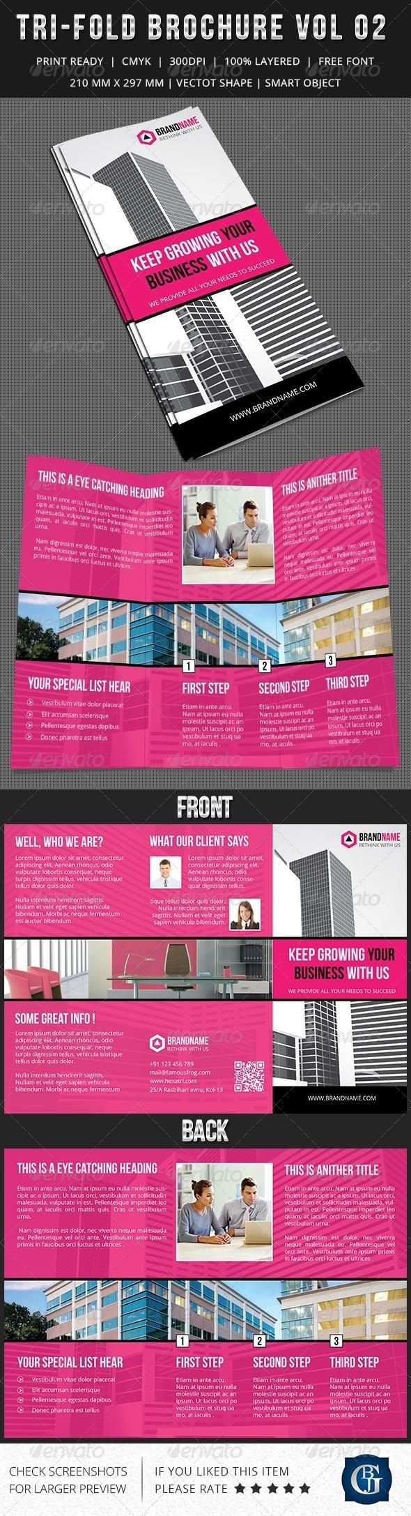 GraphicRiver Corporate Multipurpose Trifold Brochure Vol 2 6296516
