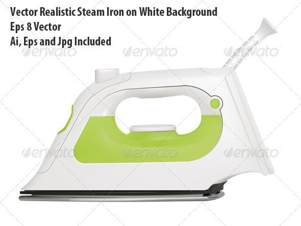 GraphicRiver Steam Iron 6296660