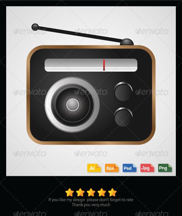 GraphicRiver Old Radio 6297876