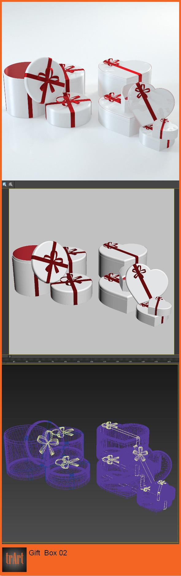 3DOcean Love Gift Box 6298247