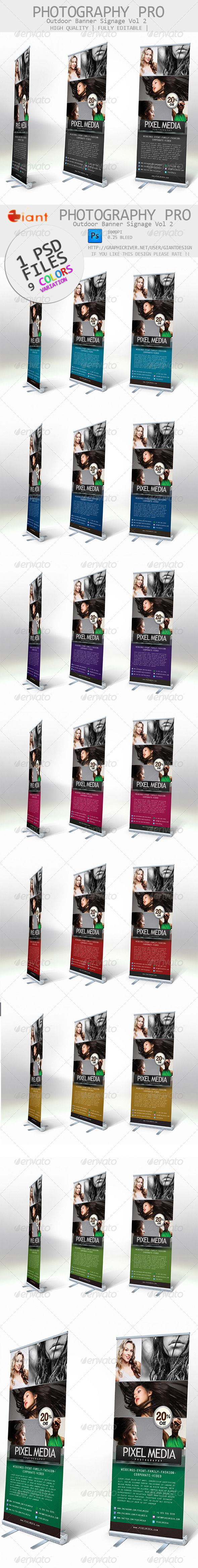 GraphicRiver Photography Pro Outdoor Banner Signage vol 2 6298429