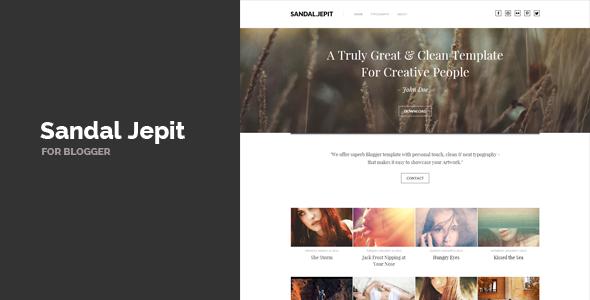 Sandal Jepit - Blogger Blogging