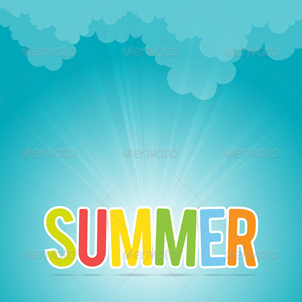 GraphicRiver Colorful Summer 6299408
