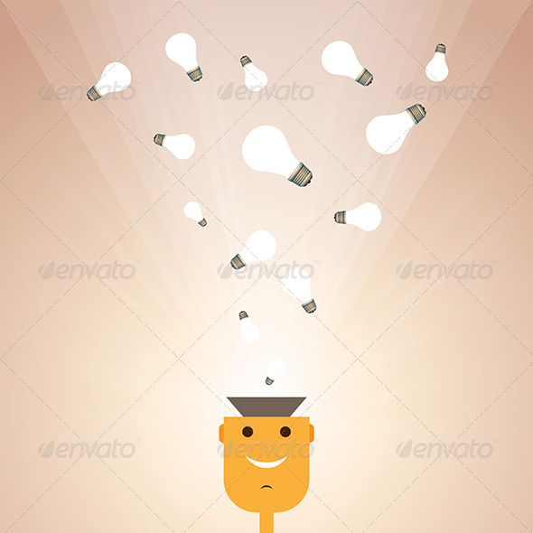 GraphicRiver Man with Ideas 6299437