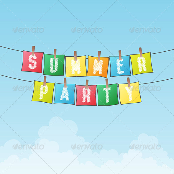 GraphicRiver Summer Party 6299443