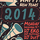 Happy New Years Flyer Template - GraphicRiver Item for Sale