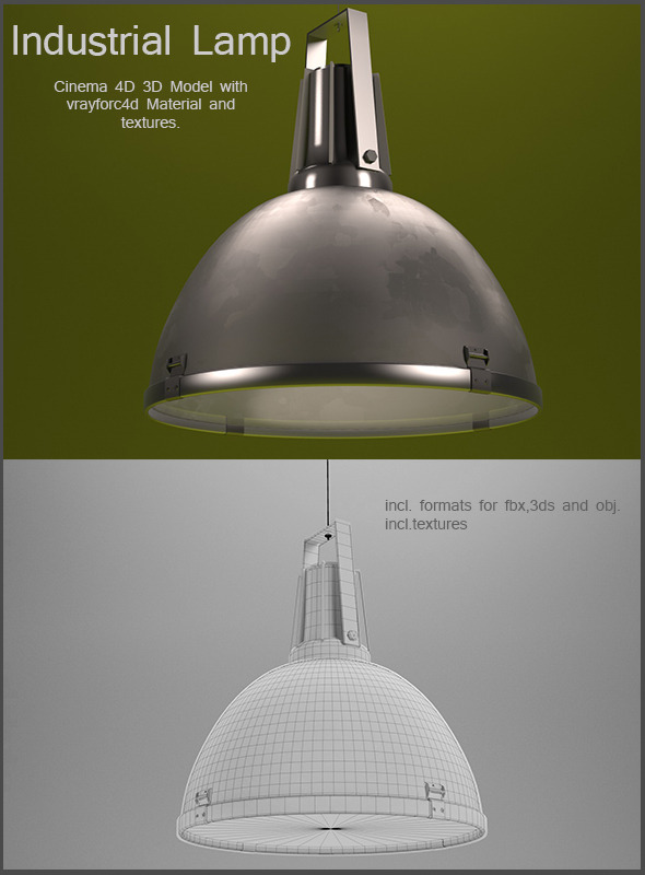 3DOcean Industrial Lamp 6299611