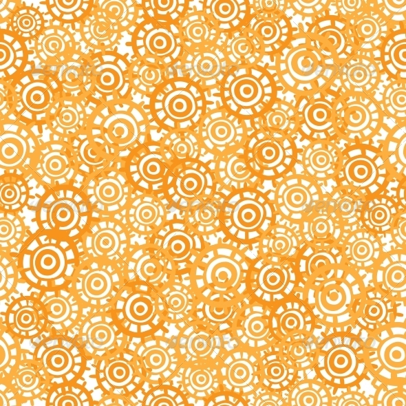 GraphicRiver Abstract Orange Seamless Texture 6300834