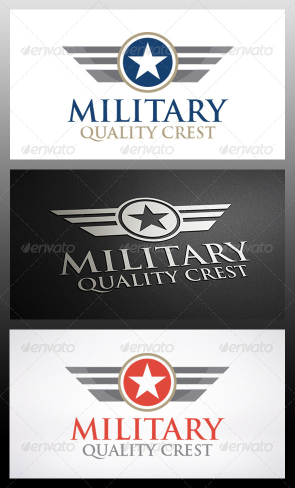 GraphicRiver Military 1 Logo 6301369