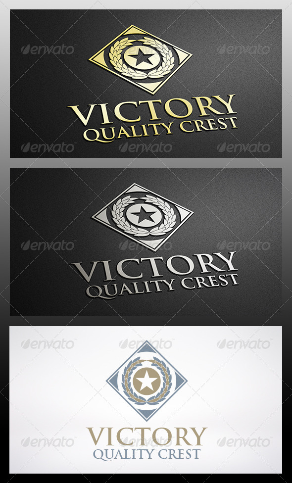 GraphicRiver Victory Logo Template 6301679