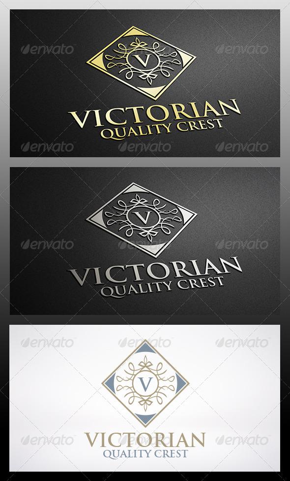 GraphicRiver Victorian Logo Template 6301819