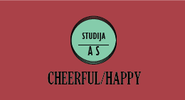 CHEERFUL/HAPPY