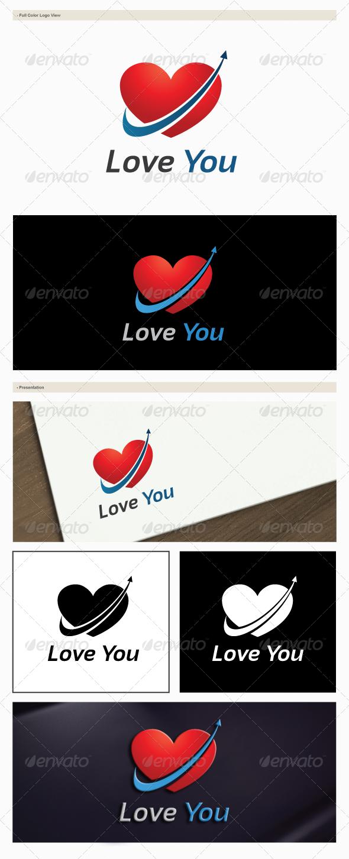 GraphicRiver Love You Logo 6302449