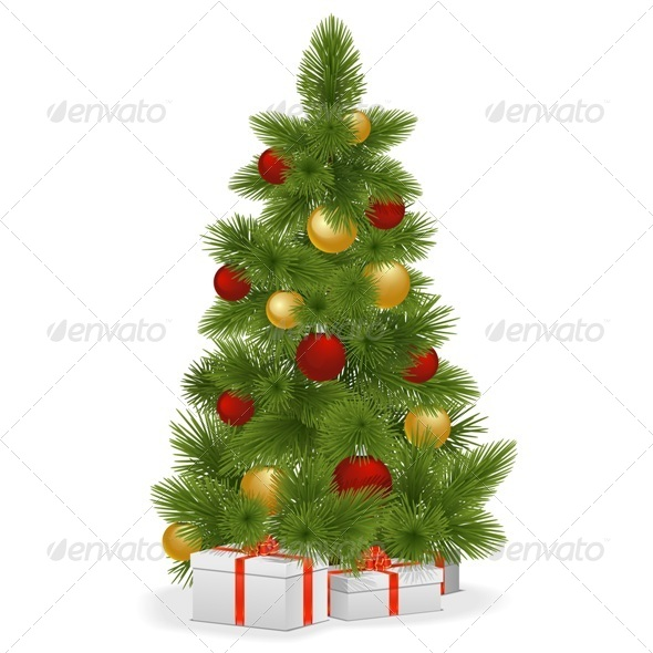 GraphicRiver Vector Christmas Tree 6302494