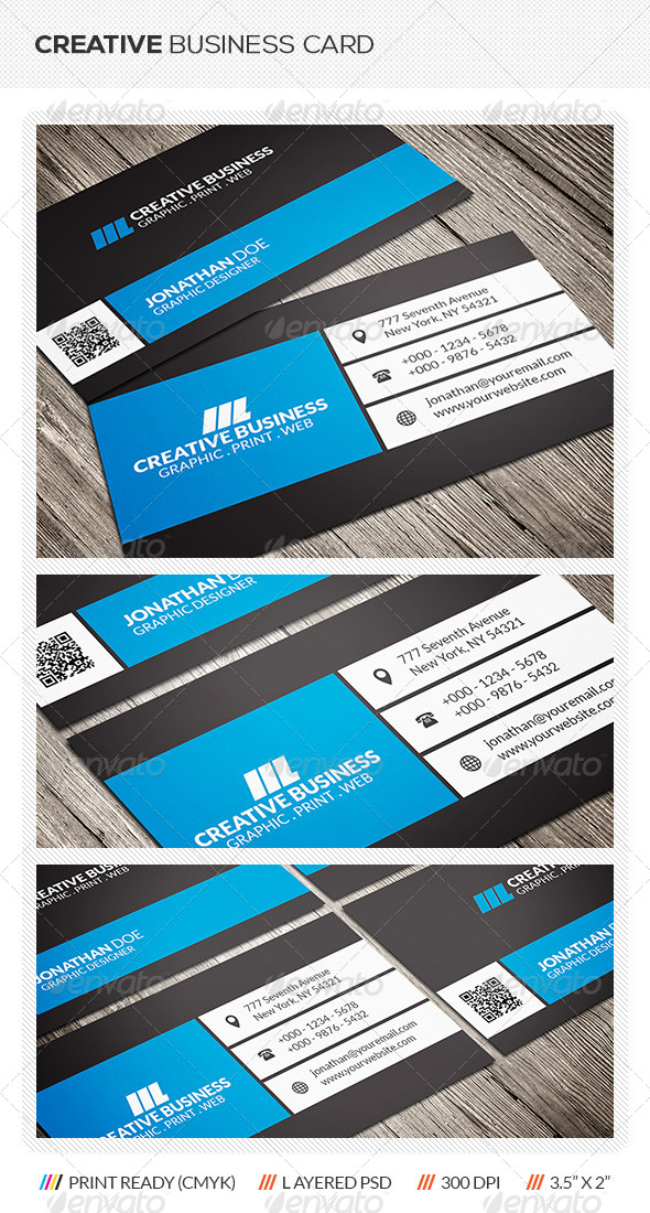 GraphicRiver Creative Business Card 6302571