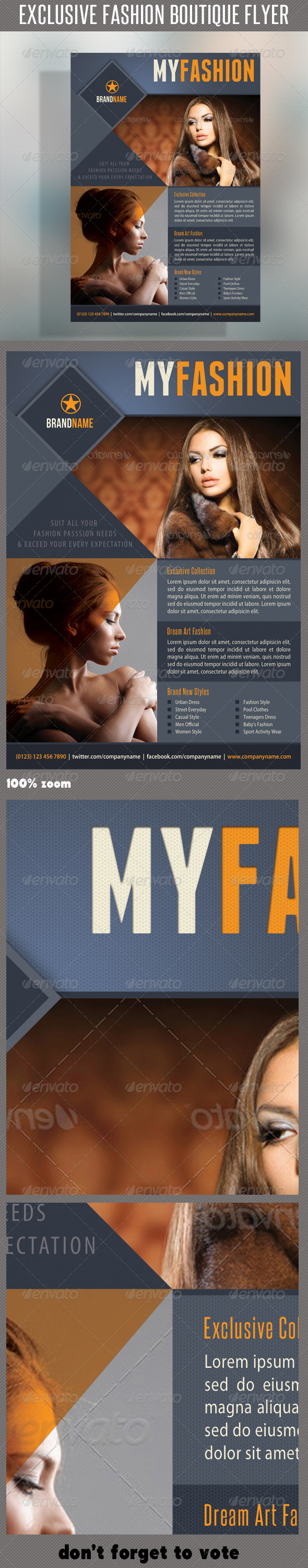 Fashion Product Flyer 19 - Commerce Flyers