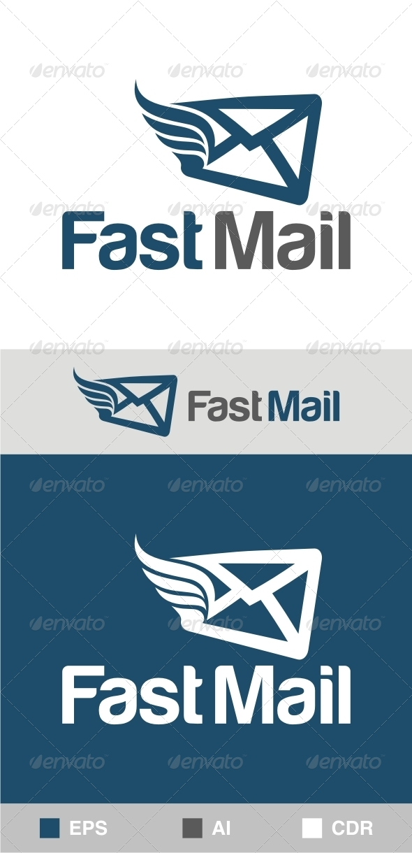 GraphicRiver Fast Mail Logo 6276970