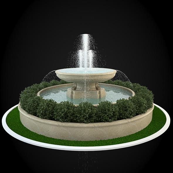 3DOcean Fountain 044 6303615