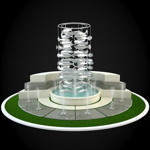 3DOcean Fountain 045 6303730