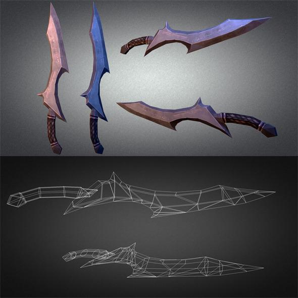 Sword 01 - 3DOcean Item for Sale