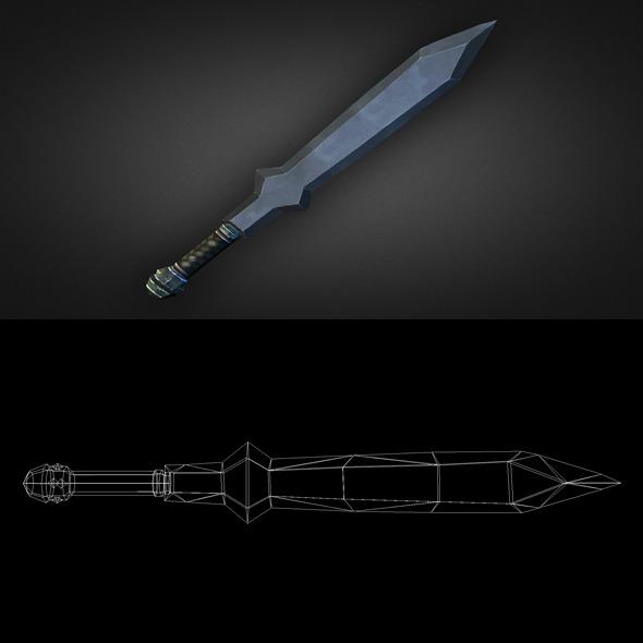 3DOcean Sword 04 6303778
