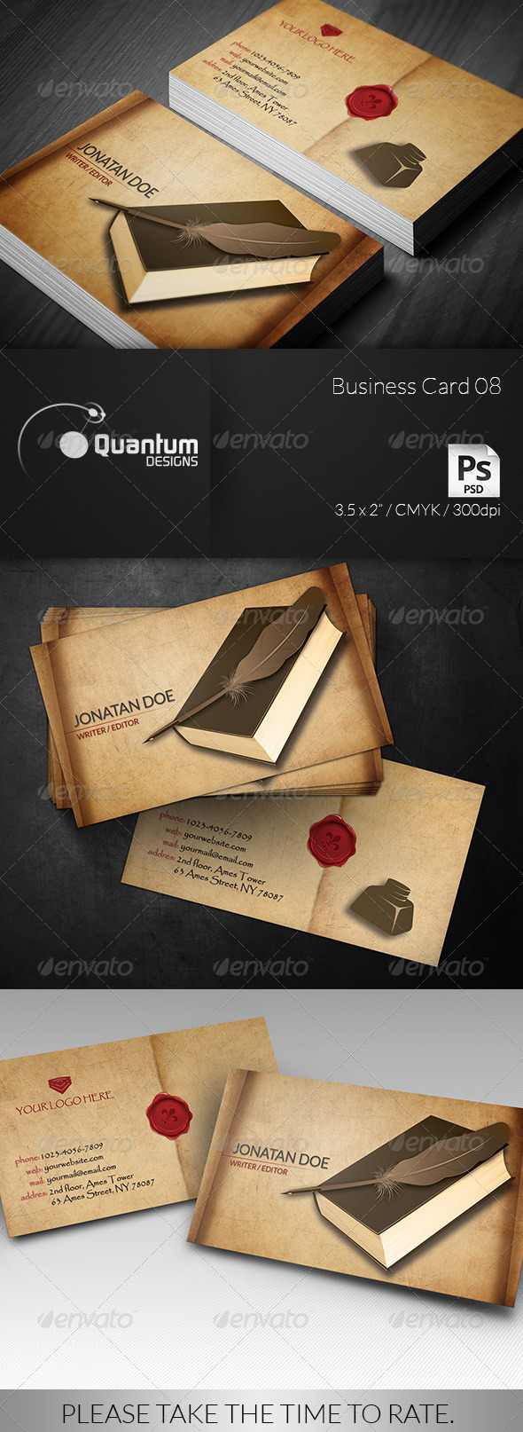 GraphicRiver Business Card 08 6265340