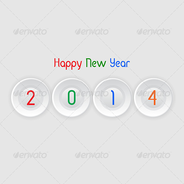 GraphicRiver Happy New Year Background 6303849