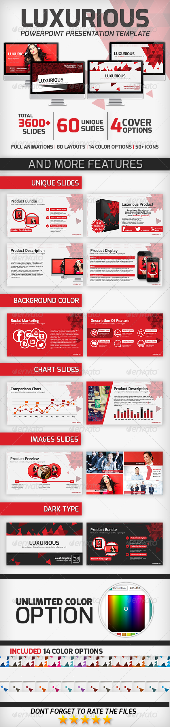GraphicRiver Luxurious PowerPoint Presentation Template 6284311