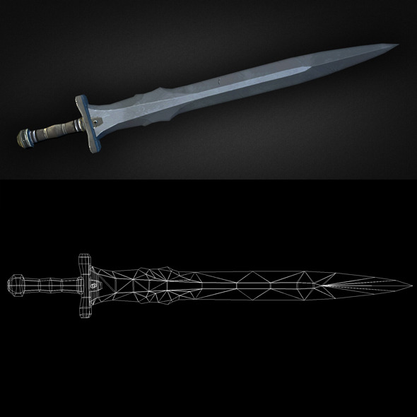 Sword 14 - 3DOcean Item for Sale