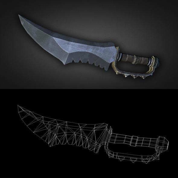 3DOcean Dagger 01 6304036