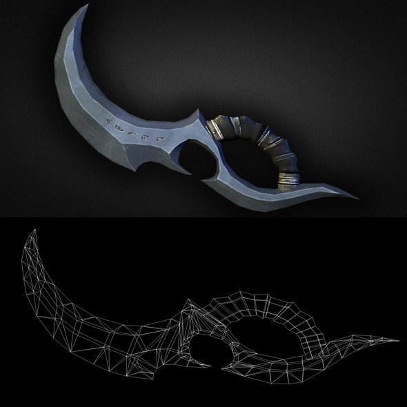 Dagger 07 - 3DOcean Item for Sale