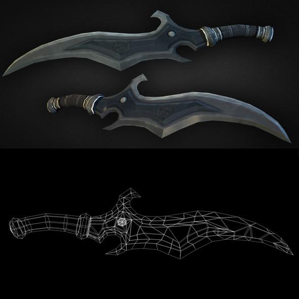 3DOcean Dagger 09 6304116