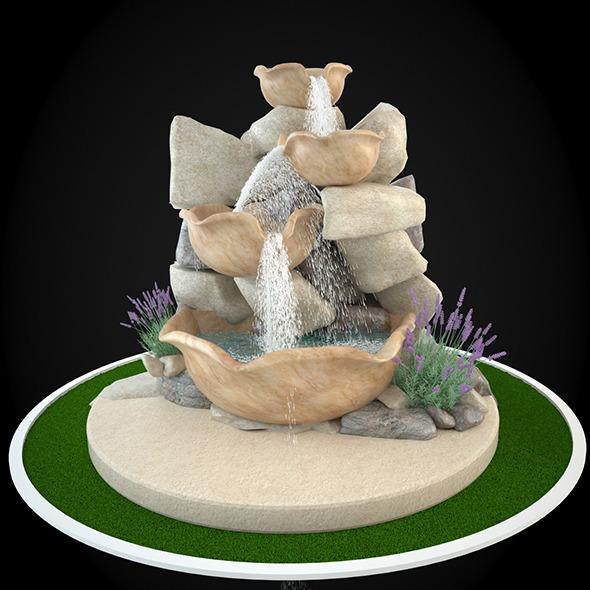 3DOcean Fountain 049 6304218