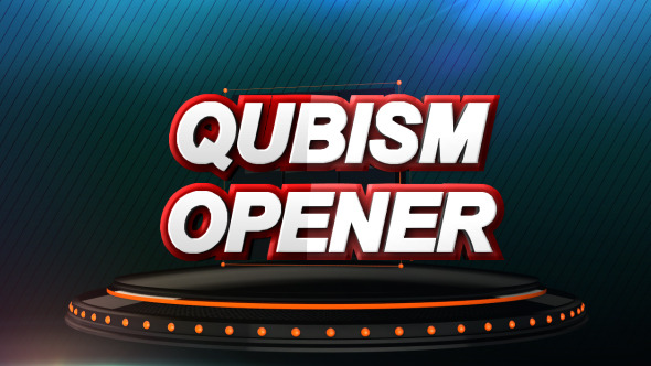 VideoHive Qubism 3D Opener 6304222