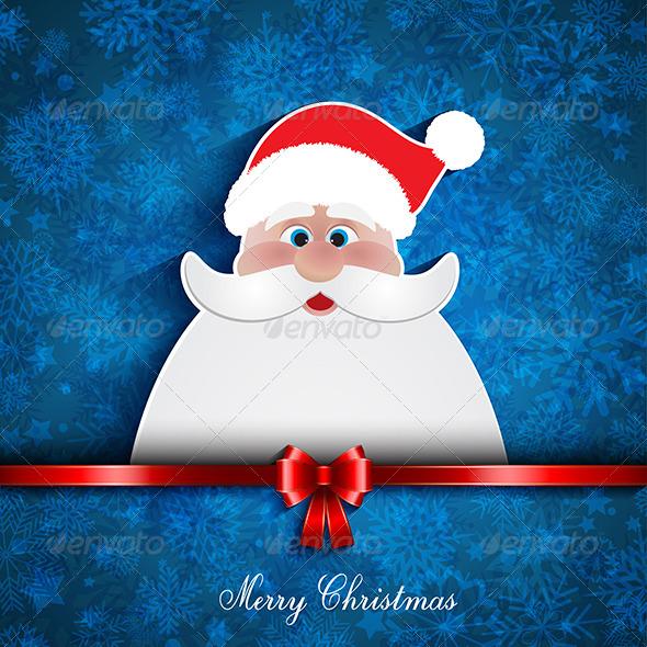 GraphicRiver Christmas Santa Background 6304234