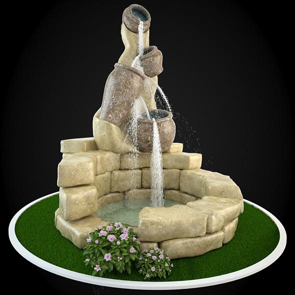 3DOcean Fountain 050 6304236