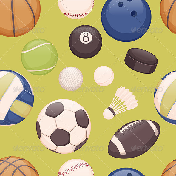 GraphicRiver Balls Background 6304268